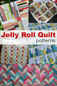 Jelly Roll Quilt Ideas & Jelly roll quilt patterns are easy to make and stitch together in a flash.  Here Adamdwight.com