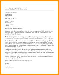 Cover Letter To Former Employer Writing A Cover Letter For A Childcare Worker Child Care