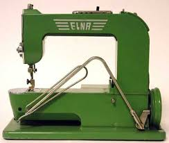 History Elna Sewing Machines & Whilst the first Elna was not given a model number as such, it became known  as the Elna 1, it is also known affectionately as the Grasshopper. Adamdwight.com