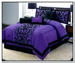 purple bed comforters bedroom set pink and black sets fancy for duvet dark comforter purple bed comforters