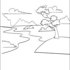 Stunning Ideas Stream Coloring Page Complete River Pages To Download