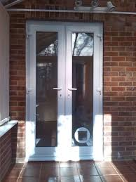 can you put a cat flap in double glazed patio door ideas