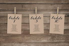 Wedding Seating Chart Cards Template Wedding Seating Chart Template Wedding Seating Chart