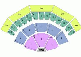 Molson Amphitheatre Detailed Seating Chart 41 Curious Dte Music Theater Seating Chart With Seat Numbers