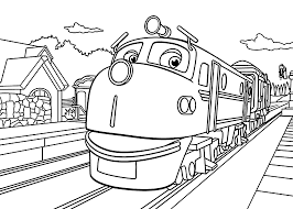 Small Picture 13 chuggington coloring pages Print Color Craft