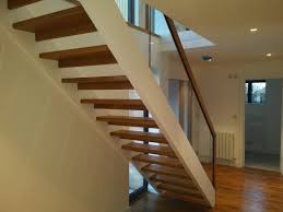open tread stairs. Unique Stairs Glazed Open Tread Straight Flight Of Stairs For O