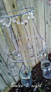 how to make a chandelier mason jar jar upcycle recycle repurpose