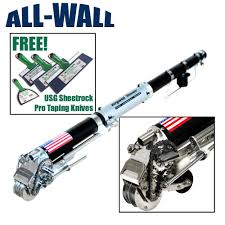 details about drywall master king pro automatic taper taping tool free usg taping knife set