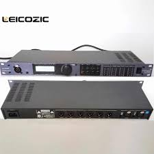 Leicozic PA 2in6out driver rack procesador <b>audio</b> profissional ...