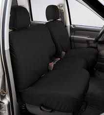 covercraft ss2430pcch seatsaver front row custom fit seat cover for select dodge ram pickup models polycotton charcoal