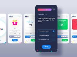 Designer Trivia Quiz App Ui Oma By Jd On Dribbble