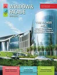 Qatar Design Consortium Bangalore Window Facade Magazine January February 2019 Issue By F