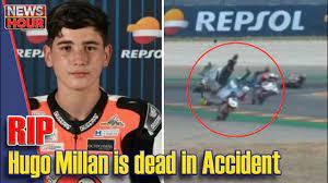 European Talent Cup driver Hugo Millan ...