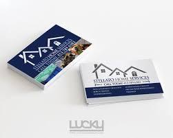 Standard Business Cards Lucky Design Media