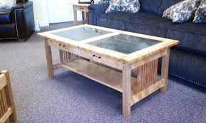 Birch Coffee Table Brookside Woodworking Things Are Picking Up