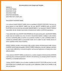 Template Letter Of Recommendation 6 Format Letter Of Recommendation Gospel Connoisseur