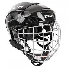 Ccm Fitlite 40 Senior Hockey Helmet Combo