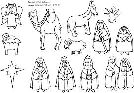 Free Nativity Coloring Pages For Kids Valid Page 33412309