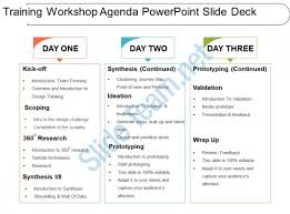 Sample Training Agenda Stunning Training Workshop Agenda Powerpoint Slide Deck PowerPoint