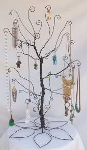 Large Jewelry Tree Display Stand PRE ORDER Large Wire Jewelry Tree StandI made one of these mine 40