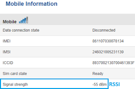 Rssi Chart Mobile Signal Strength Recommendations Wiki Knowledge Base