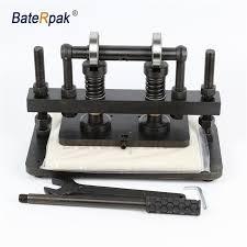 hot deal us 140 00 for 26x12cm double wheel hand leather cutting machine baterpak photo paper pvc eva sheet mold cutter leather cutting machine