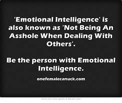 best daniel goleman emotional intelligence images on   emotional intelligence is also known as not being an asshole when dealing