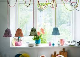 coloured cable ideas cable pendant lighting