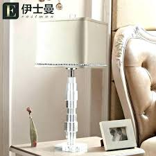 crystal table lamps for bedroom crystal lamps for bedroom crystal chandelier table lamp bedroom regarding lamps designs 4 vintage crystal bedroom