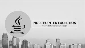 what is nullpointerexception in java