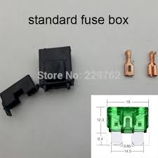 popular fuse box adapter buy cheap fuse box adapter lots from shipping 100sets bx2017 automotive fuse box car fuse holder auto fuse socket fuse sheath