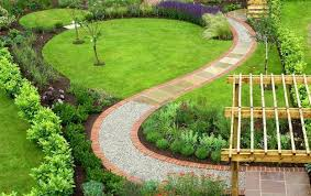 Small Picture 25 Yard Landscaping Ideas Curvy Garden Path Designs to Feng Shui