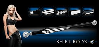 new shift rods in 6 designs pm custom motorcycle parts news