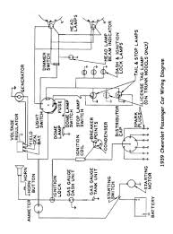 chevy wiring diagrams alternator warning light circuit at Gen Light Wiring