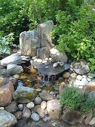 small rock gardens that rock water