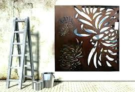outdoor metal wall art outdoor iron wall art decorative outdoor wall art decorative outdoor metal wall