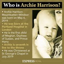 92,807 likes · 12,039 talking about this. Archie Harrison Third Royal Baby With Compromise Name On Birth Certificate Royal News Express Co Uk