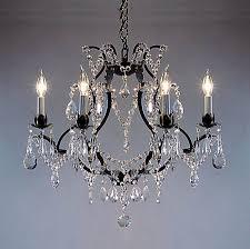 swarovski crystal lighting. Contemporary Lighting A8330306SW Swarovski Crystal Trimmed CHANDELIER Chandeliers  Chandelier Chandeliers With Lighting P