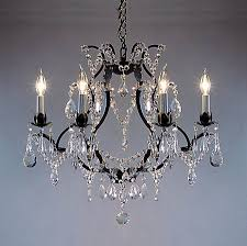 a83 3030 6 wrought iron chandelier chandeliers crystal chandelier crystal chandeliers