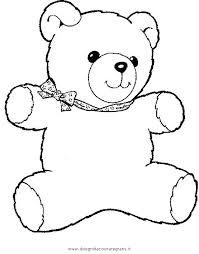 Disegno Teddybear10 Animali Da Colorare