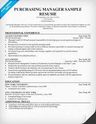 Director Of Procurement Resume Sample Inspirational Procurement ...