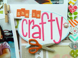 Crafty She Is Crafty Layout By Jennie Garcia Tombow Usa Blog