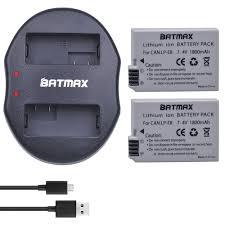 <b>2Pcs 1800mAh</b> LP E8 LPE8 LP E8 Battery +USB Dual Charger For ...