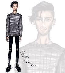 Hayden Williams Fashion Illustrations Zayn Malik By Hayden Williams