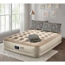 guestroom survival kit deluxe 16 in queen air mattress withqueen air mattress with complete leopard bedding