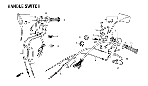 throttle handgrip issue honda rebel forum sounds like you just need to replace the throttle tube number 11 in the diagram