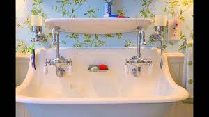 trough sink bathroom trough bathroom sink