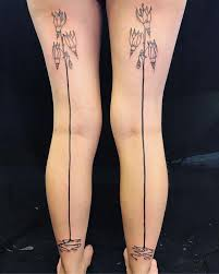 фото татуировки в виде чулок новая тенденция покорила Instagram