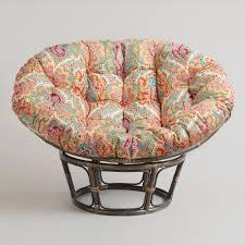 wicker saucer chair outdoor papasan cushion cover papasan chair cushion