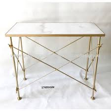 White marble table top Contemporary China Rectangular Console Tablesgold Metal Framewhite Marble Table Top2sizes Global Sources China Rectangular Console Tablesgold Metal Framewhite Marble Table